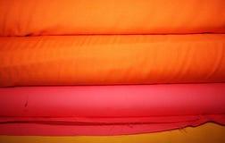 рулоны ткани предпосылки Стоковые Фото