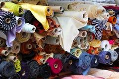 рулоны ткани Стоковые Фото