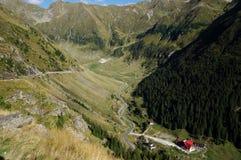 Румыния, горы Fagaras на лете Стоковая Фотография RF