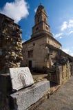 Румыния - церковь Densus Стоковые Изображения RF