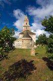 Румыния - церковь Densus Стоковая Фотография RF