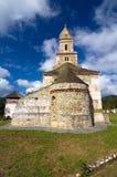 Румыния - церковь Densus Стоковое Изображение RF