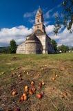 Румыния - церковь Densus Стоковая Фотография