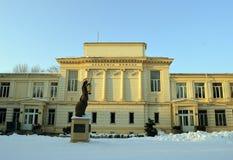 Румынская академия (научное сообщество Romana) - Бухарест, Румыния стоковые изображения