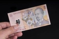 Румынская банкнота Стоковое Изображение