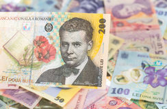 Румынская банкнота 200 Стоковые Изображения RF