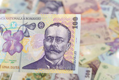 Румынская банкнота 100 Стоковые Изображения RF