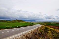 Румынская дорога Стоковые Фото