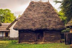 Румынская традиционная деревня Стоковое Фото