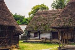 Румынская традиционная деревня Стоковые Изображения
