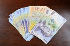 Румынские деньги Стоковое Изображение