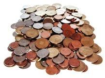 Румынские монетки Стоковая Фотография RF
