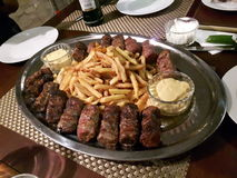 Румынские сосиски Стоковое фото RF