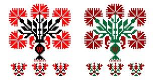 Румынские традиционные темы иллюстрация вектора