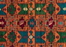Румынские фольклорные безшовные орнаменты картины Румынская традиционная вышивка Этническая конструкция текстуры Традиционный диз стоковая фотография