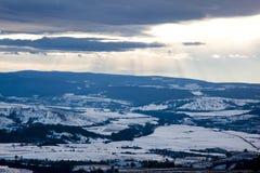Румынские холмы Стоковые Изображения
