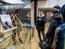 Румынские writters политиков в тюрьме Стоковые Изображения RF