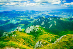 Румынский ландшафт горы Стоковая Фотография RF