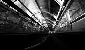 румынский поезд станции Стоковое Фото