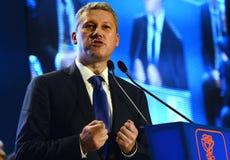 Румынский политик Catalin Predoiu Стоковые Изображения RF
