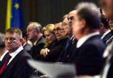 Румынский политик Klaus Iohannis Стоковые Фотографии RF