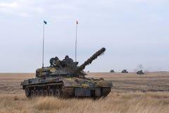 Румынский танк TR 85M 'Bizonul' Стоковое фото RF