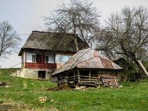 Румынский традиционный дом Стоковые Изображения