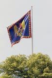 Румынский флаг монархии Стоковая Фотография RF