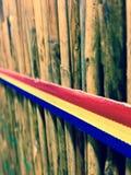Румынский флаг Стоковые Фото