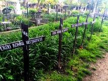Румынское кладбище стоковые фотографии rf