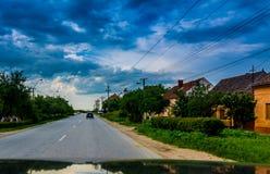 румынское село Стоковое Изображение RF