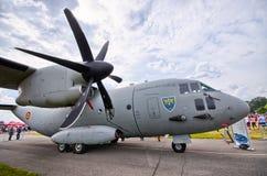 Румынское C-27J спартанское на Радоме Airshow, Польше Стоковое Фото