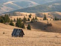 румын ландшафта Стоковая Фотография