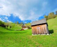 румын сельской местности chalets Стоковое Фото