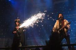 румын утеса шипучки hara полосы Стоковая Фотография RF