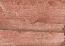 Румяная коричневая абстрактная картина акварели Стоковые Изображения