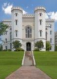 румян Луизианы капитолия здания жезла стоковое изображение rf