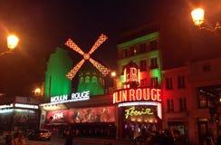 Румян Париж Moulin стоковое фото