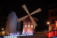 румян paris moulin стоковые изображения