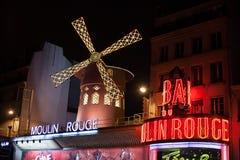 румян paris moulin стоковые изображения rf