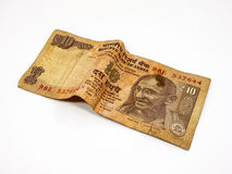10 рупий Стоковая Фотография RF