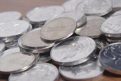 Рупия монетки - индонезийские деньги Стоковое Изображение RF