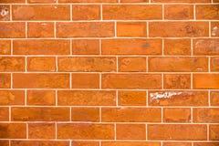 Русая кирпичная стена Стоковая Фотография