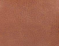 Русая кожаная предпосылка от материала ткани Ткань с естественной текстурой сторонника Стоковые Фотографии RF