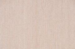 Русая текстура ткани для ретро и handmade предпосылки Стоковая Фотография RF