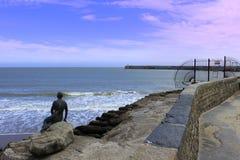 Русалка Кент Великобритания гавани Folkestone Стоковое фото RF