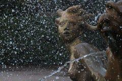 Русалки фонтана тритона Стоковое фото RF