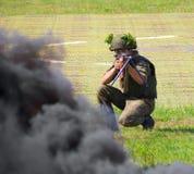Русская армия Стоковое Фото