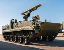 Русская боевая машина BMPT-72 поддержки танка стоковые изображения rf