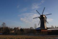 Русская ветрянка стоковое фото rf